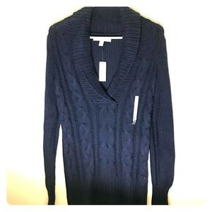 Navy Blue Sweater, Size S by Old Navy. NWT